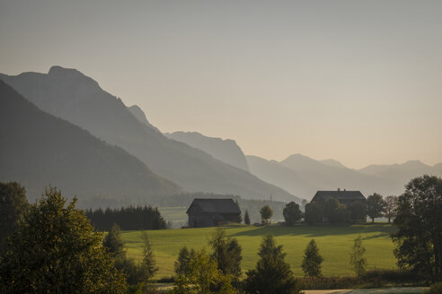 Austria, Ausseer Land, Landscape with mountains - HAMF00384
