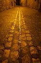 Spain, Alquezar, lane in the night - AFVF01626