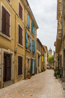 France, Narrow street in Peyrac-de-Mer - SKCF00532