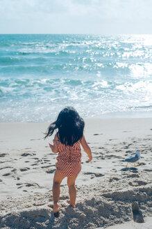 Little girl on beach - ISF19791