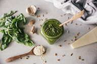 Fresh Pesto Genovese in glass - MBEF01434