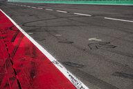 Markings and skidmarks on racetrack - HAMF00431