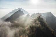 Switzerland, mountains and fog - LHPF00127