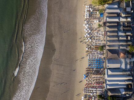 Indonesia, Bali, Aerial view of Jimbaran beach - KNTF02124