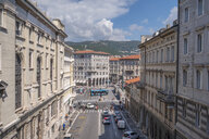 Italy, Friuli-Venezia Giulia, Trieste, Old town, street - HAMF00480