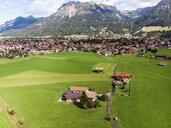 Germany, Bavaria, Swabia, Aerial view of Oberstdorf - AMF06059