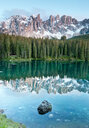 Picturesque views of Karersee lake in Italy - INGF02290