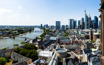 Germany, Hesse, Frankfurt, Skyline, financial district, old town, Roemer and Dom-Roemer Project - AMF06077