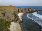 Indonesia, Lombok, Aerial view of beaches - KNTF02149