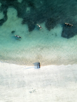 Indonesia, Lombok, Aerial view of Tanjung Aan beach - KNTF02224