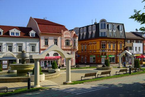 Slovakia, Poprad, St. Egidius Square - LBF02138