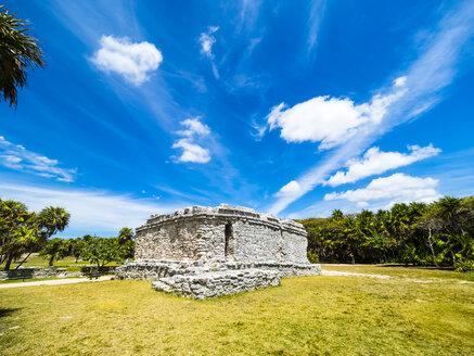 Mexico, Yucatan, Riviera Maya, Quintana Roo, Tulum, Archaeological ruins of Tulum - AMF06090