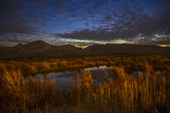 Africa, South Africa, lake in the evening - ZEF16049