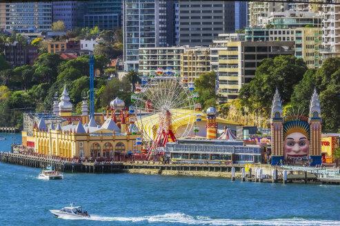 Australia, New South Wales, Sydney, Coney Island, Luna Park - THAF02323