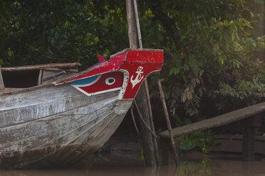 Vietnam, Mekong river, fishing boat - MMAF00650
