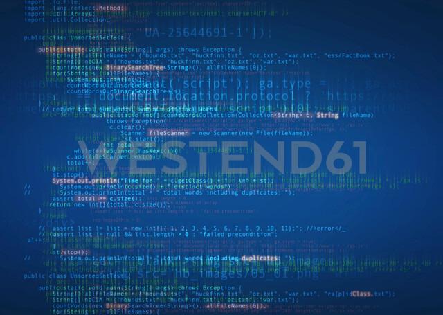 Computer language on screen - HOXF04173 - Martin Barraud/Westend61
