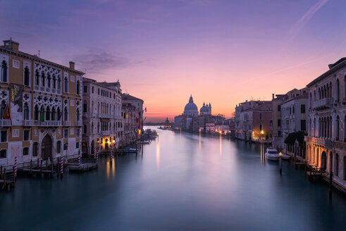 The Grand Canal at sunset in Venice - LUXF02154