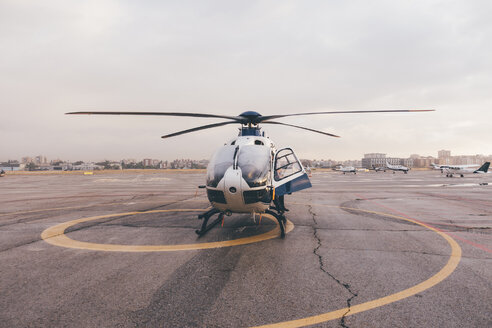 Helicopter on air field - OCMF00007