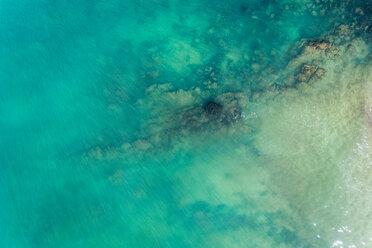 Spain, Asturias, Aerial view of water - MGOF03829
