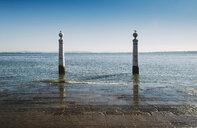 Portugal, Lisbon, River Tagus, Cais das Colunas - RAEF02221