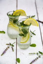 Infused water with mint and lemon, detox - SARF03960