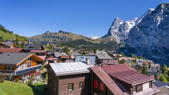 Switzerland, Bernese Oberland, Eiger, Moench, Muerren - STSF01782