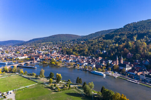 Germany, Bavaria, Miltenberg, river Main - AMF06142