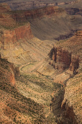 USA, Arizona, Grand Canyon National Park, Grand Canyon in the evening - FCF01574