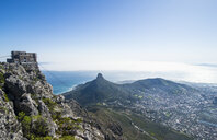South Africa, Cape Town, city view from Table mountain - RUNF00185