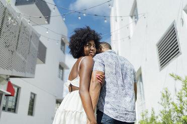 USA, Florida, Miami Beach, young couple in the city - BOYF00797
