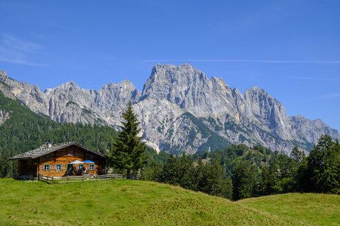 Austria, Salzburg State, Pinzgau, Grosses Muehlsturzhorn, Litzlalm, Gramlerkaser mountain inn - LBF02201