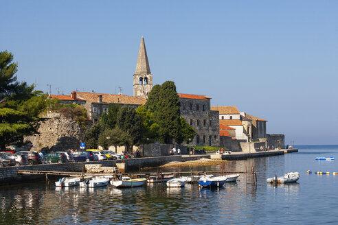Croatia, Istria, Porec, Old town, Euphrasian Basilica, promenade - WWF04439