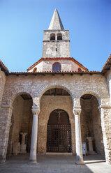 Croatia, Istria, Porec, Old town, Euphrasian Basilica - WWF04448