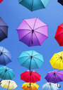 Colorful umbrellas - WWF04460