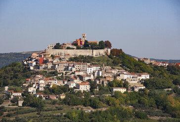 Croatia, Istria, Motovun, Old town - WWF04469