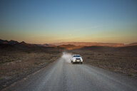 South Africa, Cape Town, Car on dirt road - ZEF16055