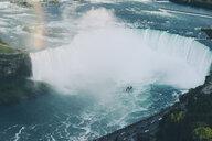 High angle view of Niagara Falls at Niagara Glen Nature Reserve - CAVF54349