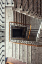 Staircase - old building - marble - INGF07327