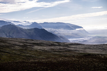 Scenic environmental view of the mountains in Iceland - INGF07524