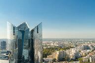 Modern building at La Defense district seen on sunny day, Paris, Ile-de-France, France - AURF07750