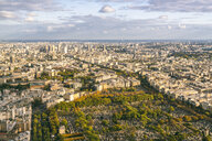 View from Montparnasse Tower, Paris, France - AURF07762