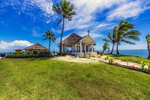 Fiji Islands, Denarau Island, Chapel at the beach - THAF02350