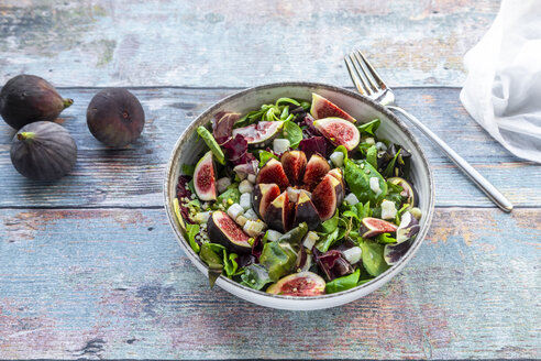 Mixed salad with figs - SARF03967