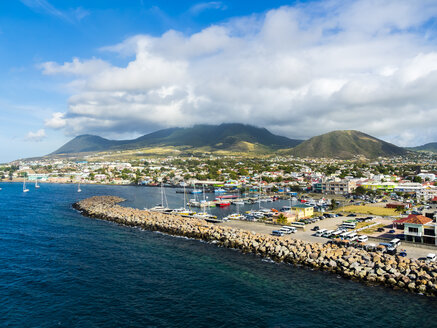 Caribbean, Lesser Antilles, Saint Kitts and Nevis, Basseterre, harbour - AMF06207