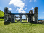 Caribbean, Lesser Antilles, Saint Kitts and Nevis, Basseterre, Brimstone Hill Fortress - AMF06210