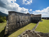 Caribbean, Lesser Antilles, Saint Kitts and Nevis, Basseterre, Brimstone Hill Fortress - AM06216