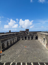 Caribbean, Lesser Antilles, Saint Kitts and Nevis, Basseterre, Brimstone Hill Fortress - AMF06219