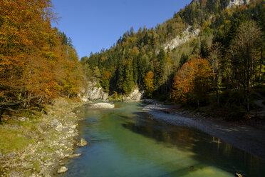 Austria, Tyrol, Chiemgau, near Schleching, Tiroler Ache, Entenlochklamm - LBF02256