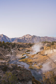 USA, California, Hot creek in Mammoth Lakes - KKAF03024