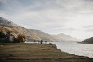 Switzerland, Lake at the Engadin - LHPF00188